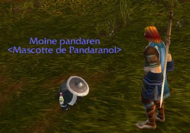 Pandaranol et son premier disciple Pandaren