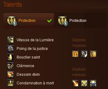 Talents Paladin Tank 5.0.5